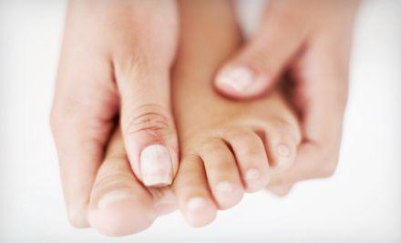 Unghie incarnite dei piedi