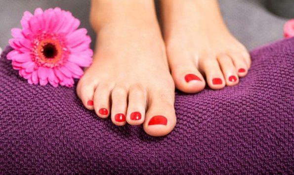 Ricostruzione gel piedi